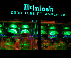 primer equipo Mcintosh Audio de Hifi Center
