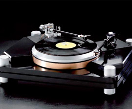 primer equipo Thorens de Hifi Center