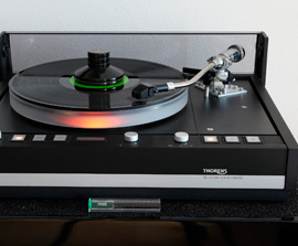 cuarto equipo Thorens de Hifi Center